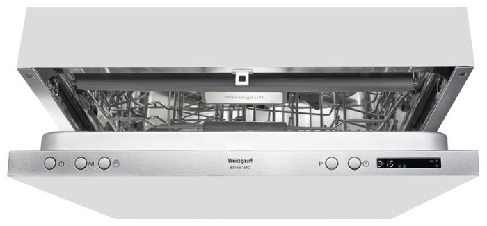 Weissgauff BDW 6138 D - вместимость: 14комплектов