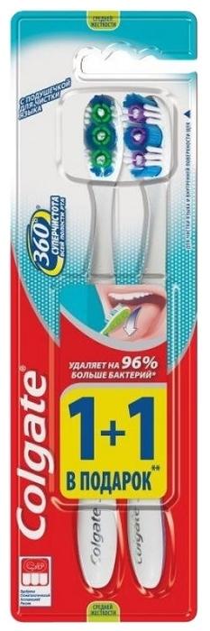 Colgate 360° Суперчистота всей полости рта 1+1 - материал: пластик