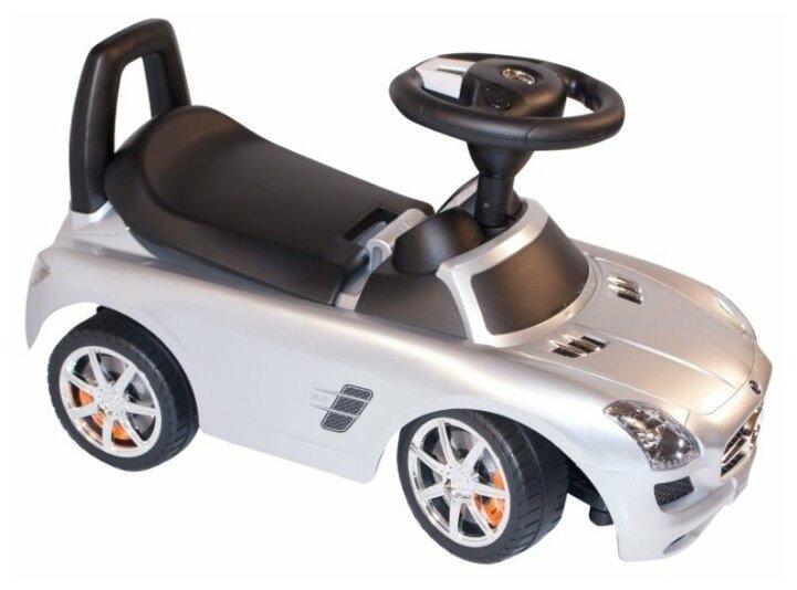 Chi lok BO Mercedes-Benz SLS AMG - особенности: багажник