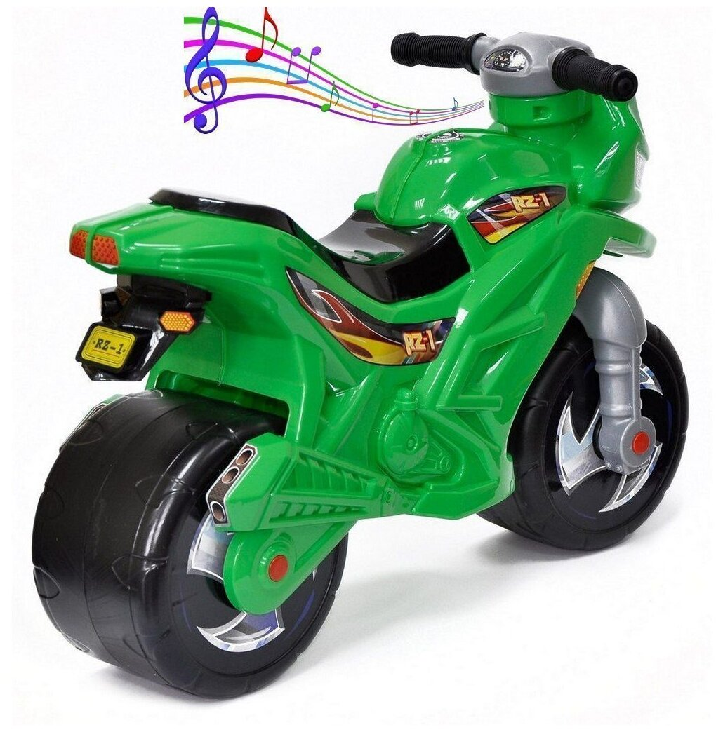 Orion Toys Мотоцикл 2-х колесный - эффекты: звук