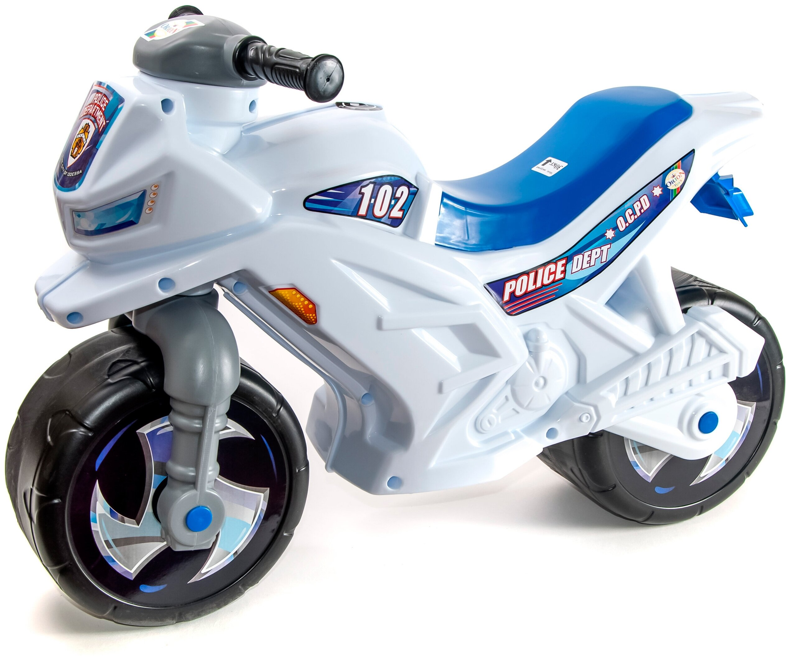 Orion Toys Мотоцикл 2-х колесный - питание от батареек (входят в комплект)