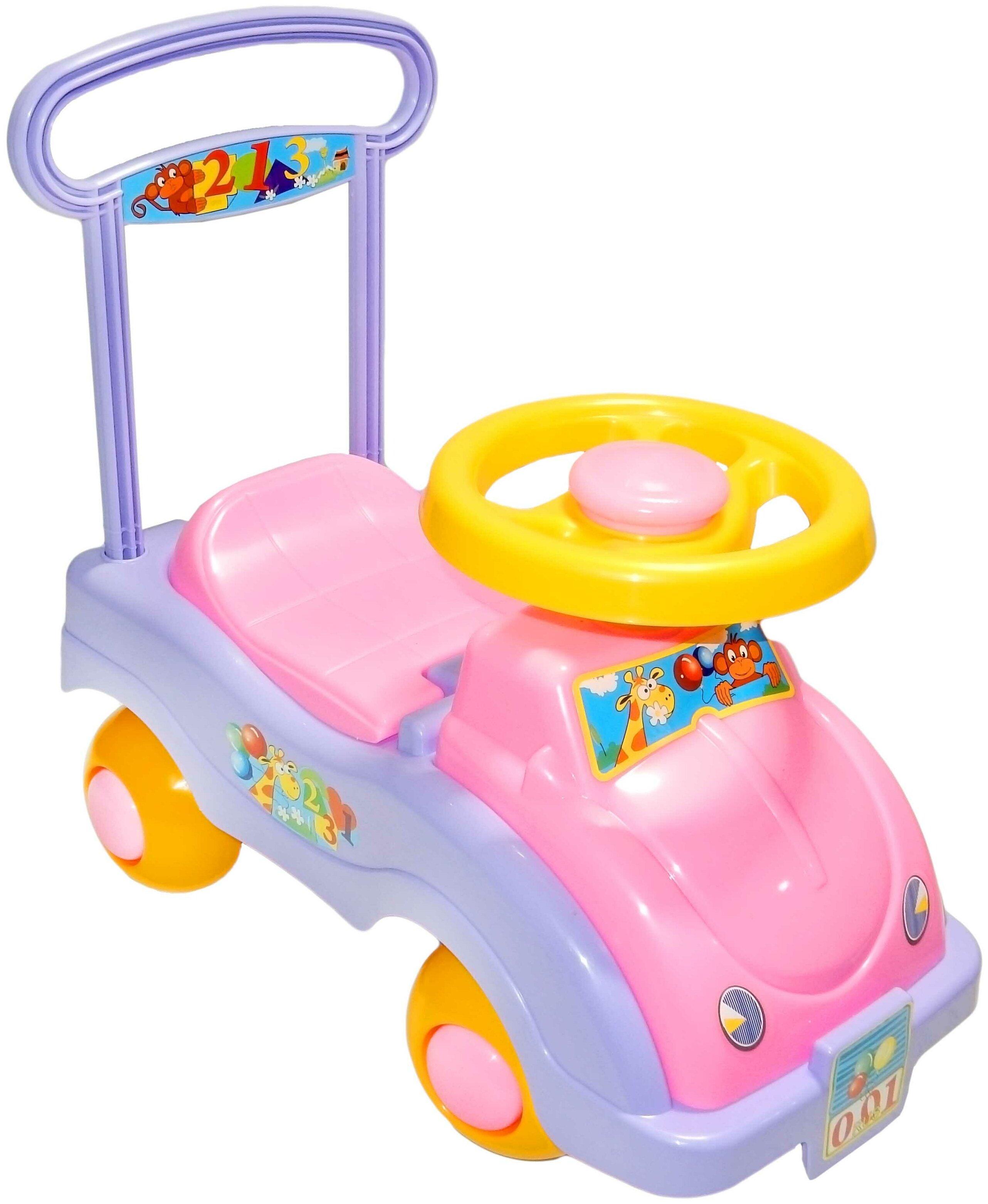 СТРОМ Автомобиль для девочек - максимальная нагрузка: 25кг