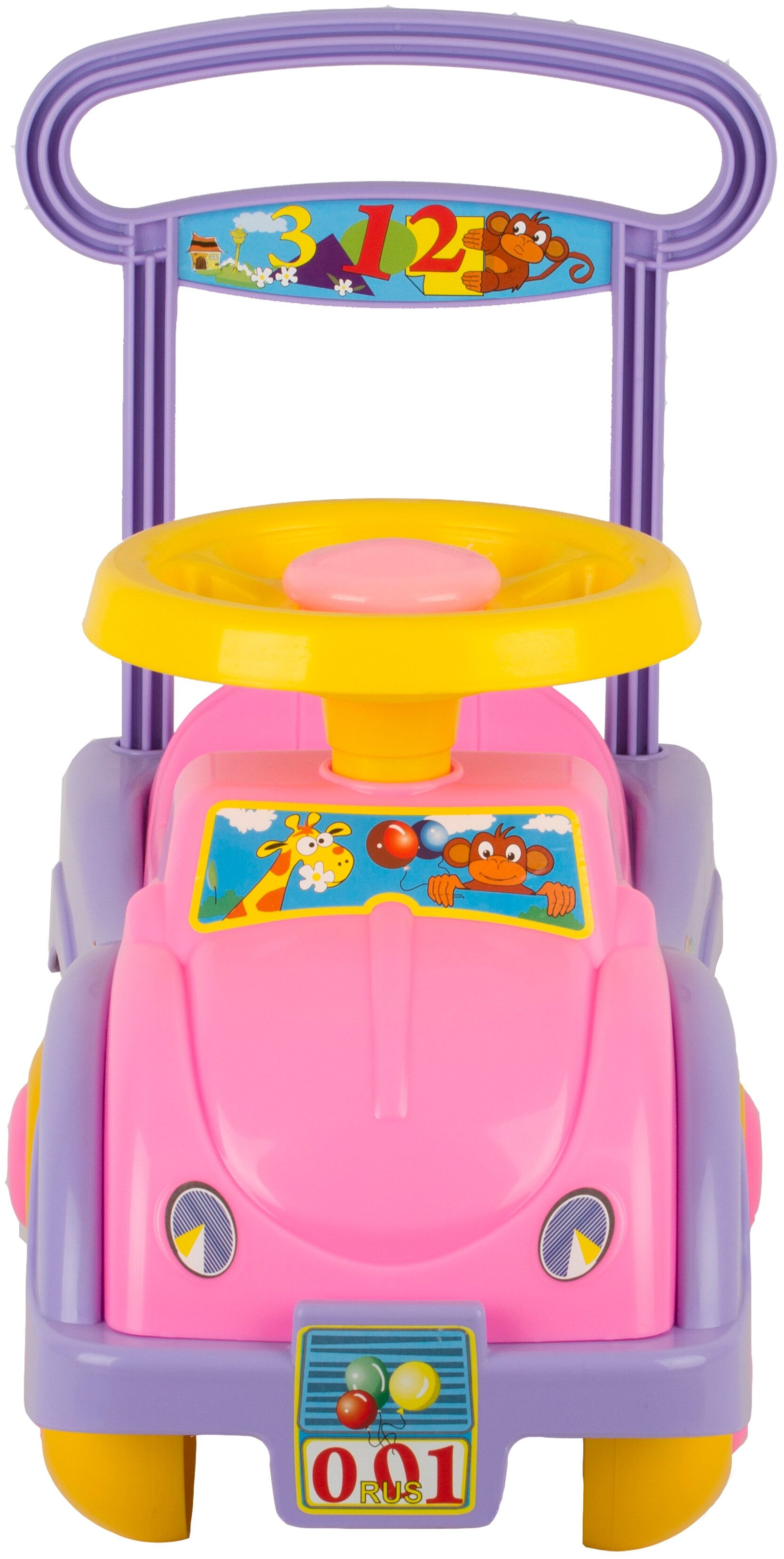 СТРОМ Автомобиль для девочек - вид: машинка