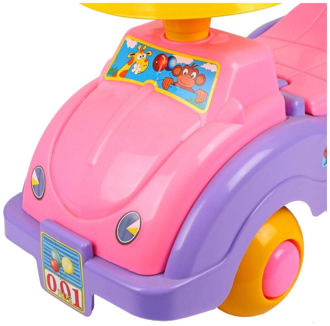 СТРОМ Автомобиль для девочек - особенности: багажник