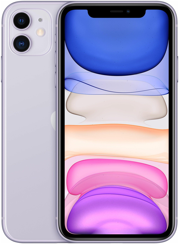 "Apple iPhone 11 128GB - экран: 6.1"" (1792x828)"