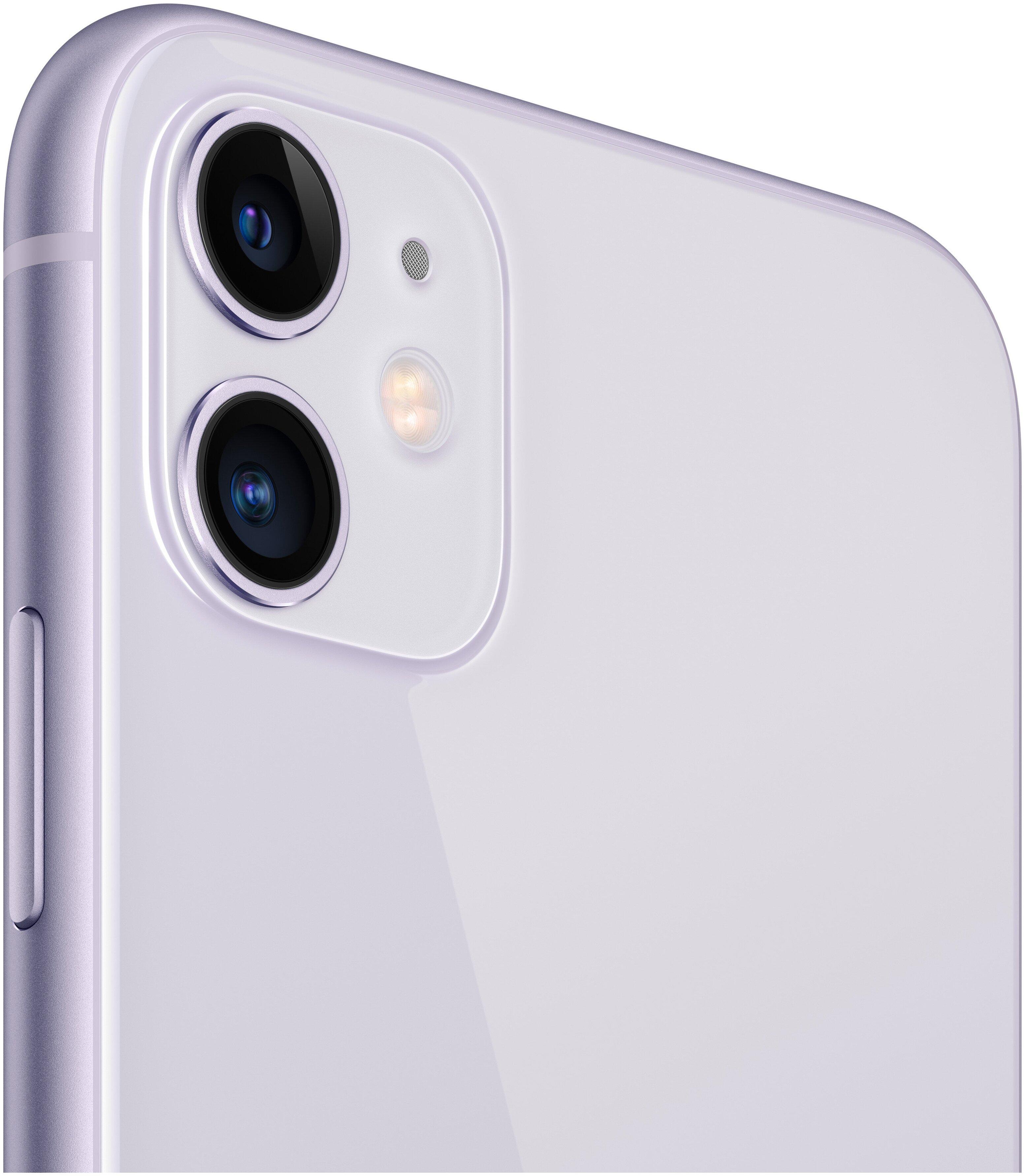 Apple iPhone 11 128GB - двойная камера: 12МП, 12МП