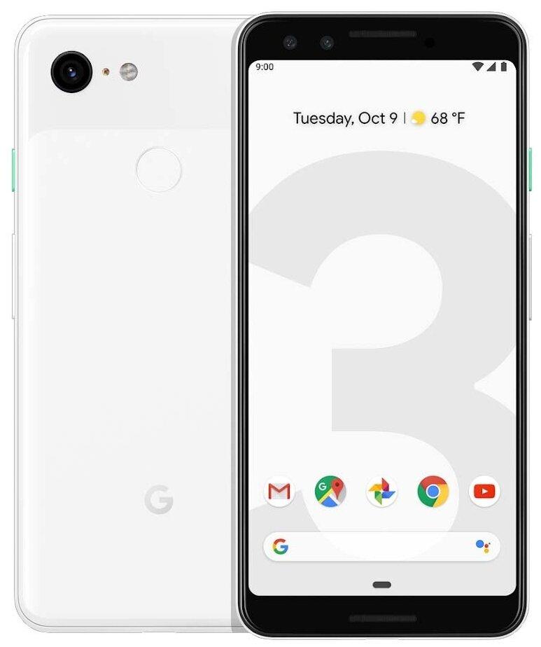 Google Pixel 3 64GB - оперативная память: 4ГБ