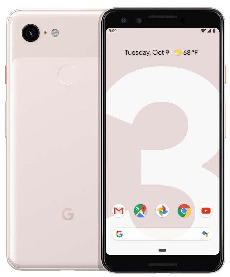 Google Pixel 3 64GB - память: 64ГБ