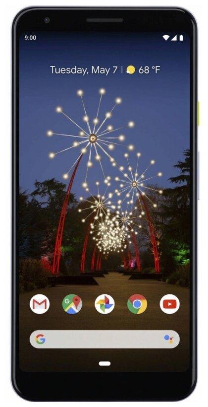 Google Pixel 3a 64GB - операционная система: Android 9.0