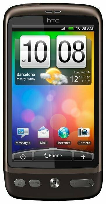 "HTC Desire - экран: 3.7"" (800×480)"