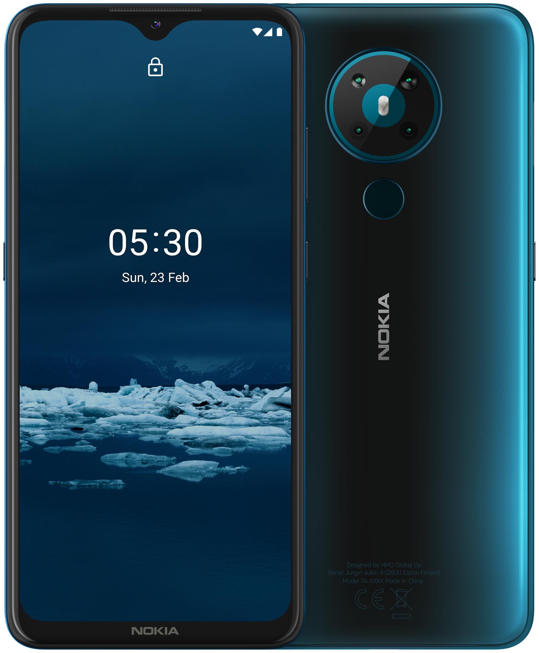 "Nokia 5.3 3/64GB Dual Sim - экран: 6.55"" (1600x720)"