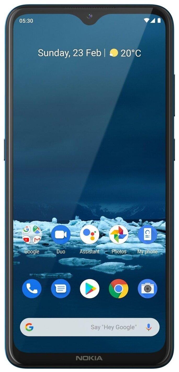 "Nokia 5.3 4/64GB Dual Sim - экран: 6.55"" (1600x720)"