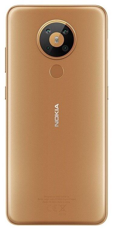 Nokia 5.3 4/64GB Dual Sim - беспроводные интерфейсы: NFC, Wi-Fi, Bluetooth 4.2