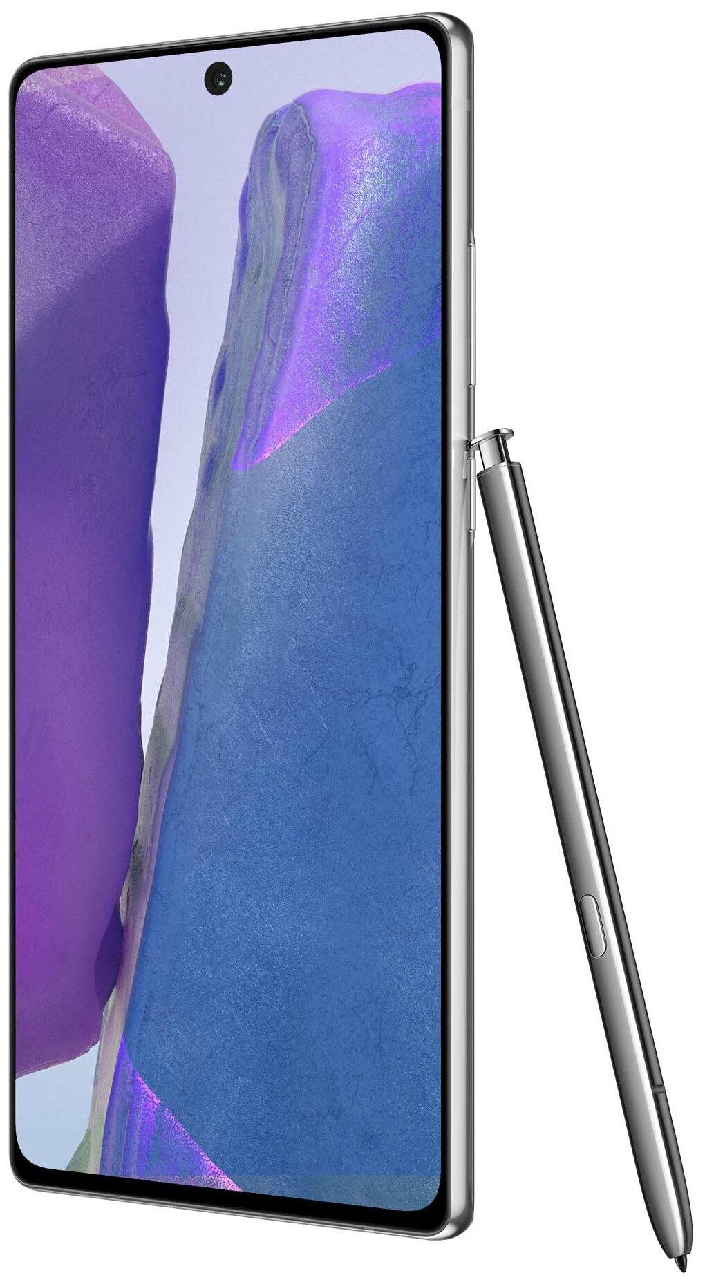 Samsung Galaxy Note 20 8/256GB - беспроводные интерфейсы: NFC, Wi-Fi, Bluetooth