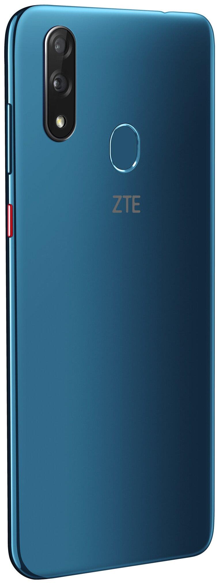 ZTE Blade V10 - беспроводные интерфейсы: NFC, Wi-Fi, Bluetooth 4.2