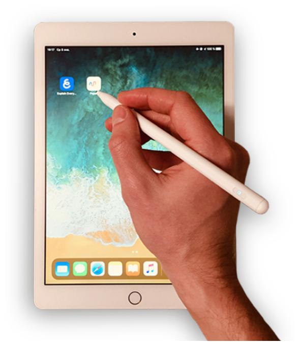 С тонким наконечником для планшета и телефона - цвет товара: белый