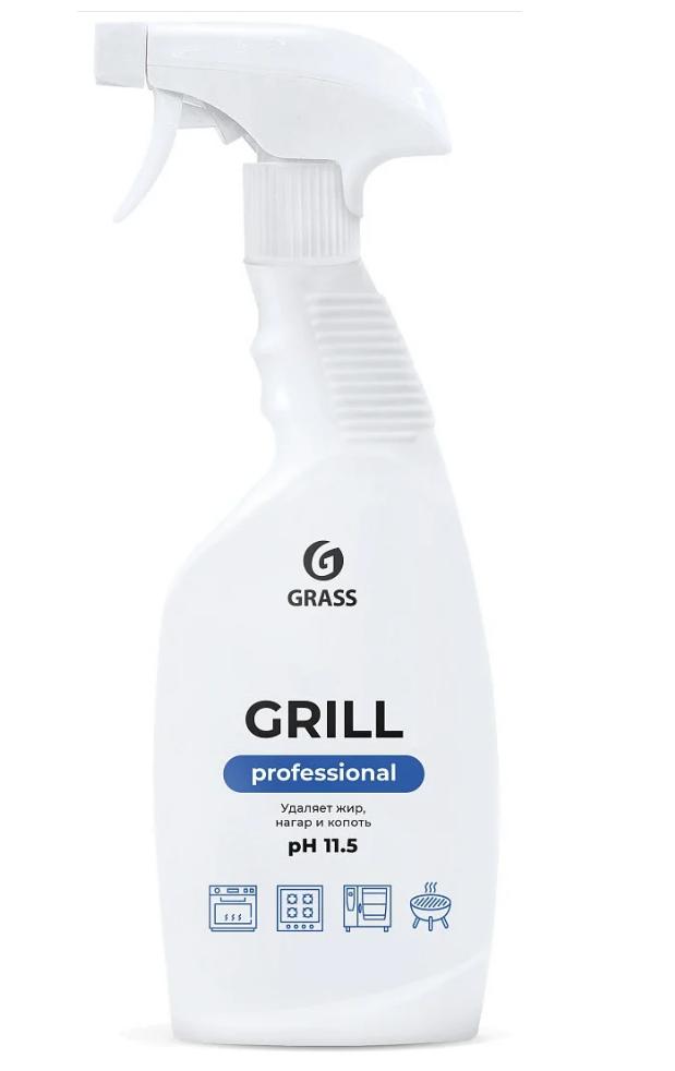 Чистящее средство Grill Professional Grass - назначение: для металлических поверхностей, для эмалированных поверхностей, для кухонных плит, для духовых шкафов, для грилей, для удаления застарелого гриля