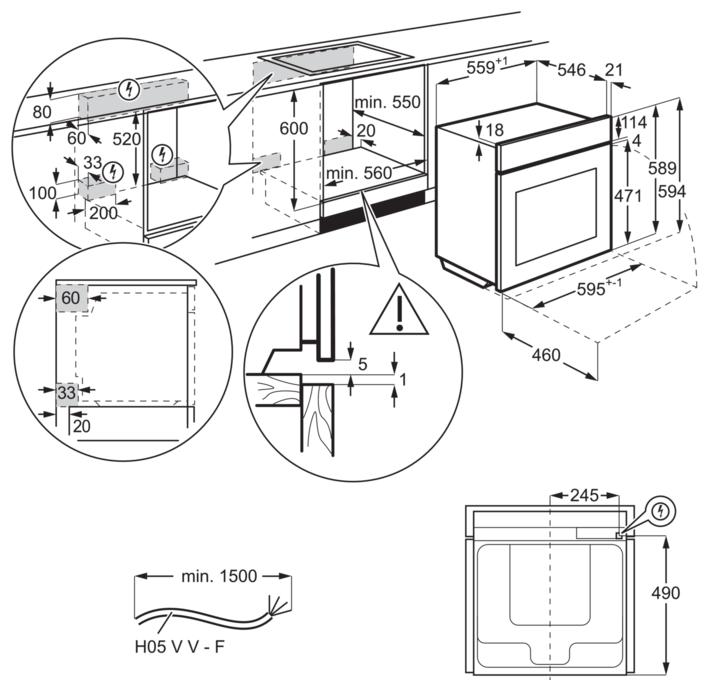 Electrolux OKA9S31CX - объем: 70л