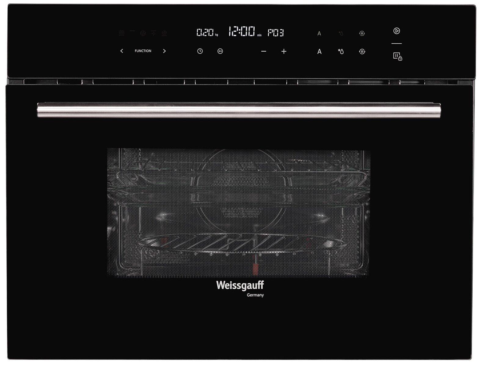 Weissgauff OE 446 B - установка: независимая