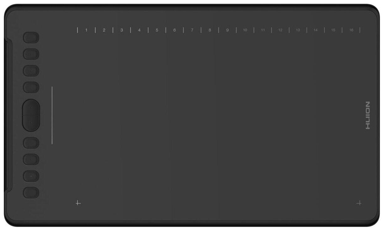 HUION H1161 - размер рабочей области (ДхШ): 279.40х174.60мм