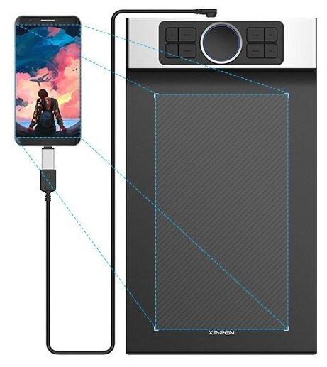XP-PEN Deco Pro Medium - длина: 399мм