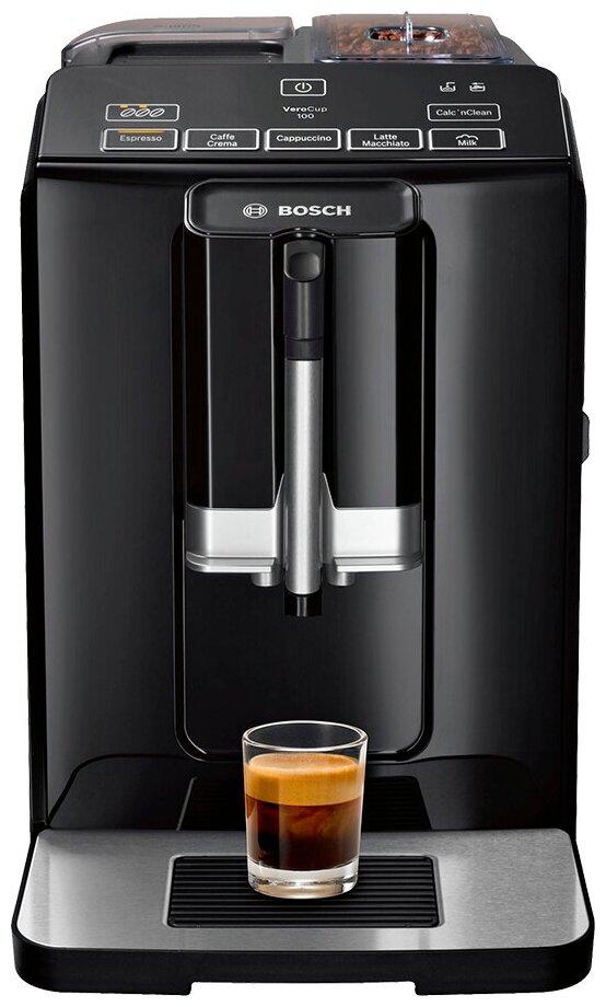 Bosch TIS 30129 RW VeroCup 100 - тип используемого кофе: зерновой