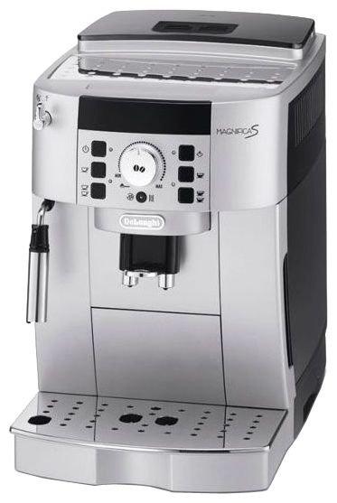 De'Longhi Magnifica ECAM 22.110 - доп. функции: автоотключение при неиспользовании, подогрев чашек, автоматическая декальцинация, быстрый пар, подача горячей воды