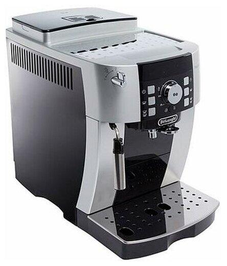 De'Longhi Magnifica S ECAM 21.117 - настройки: температура кофе, крепость кофе, объем порции горячей воды, жесткость воды