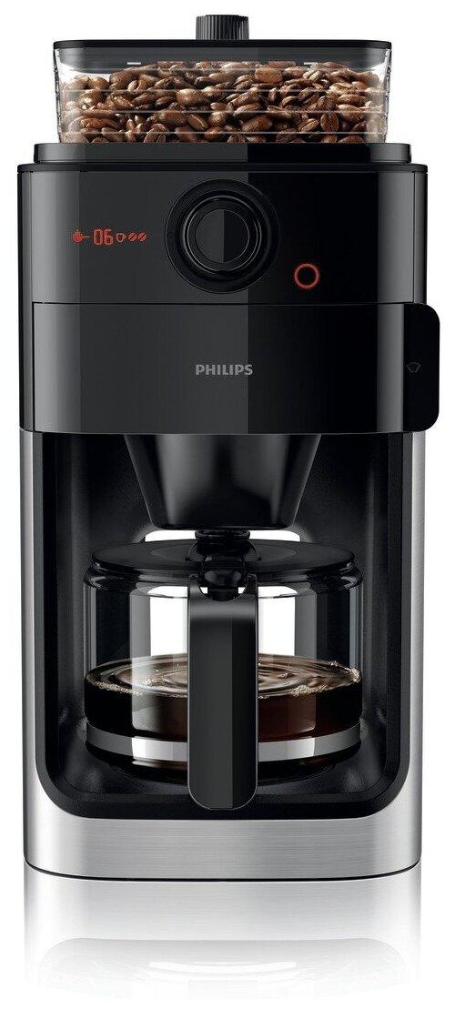 Philips HD7767 Grind & Brew - количество степеней помола: 9