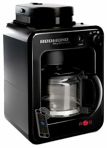 REDMOND SkyCoffee M1505S - тип используемого кофе: зерновой