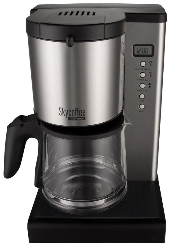 REDMOND SkyCoffee M1509S - настройки: крепость кофе
