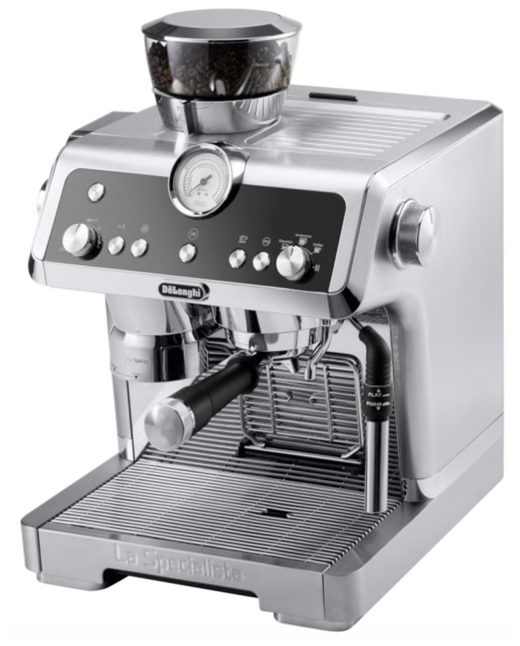 De'Longhi La Specialista EC 9335.M - тип используемого кофе: молотый / зерновой