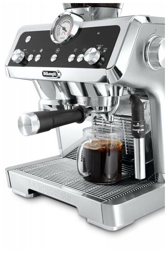 De'Longhi La Specialista EC 9335.M - настройки: температура кофе, крепость кофе, объем порции горячей воды
