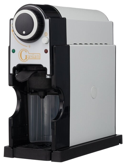 Gasian D2 - особенности конструкции: индикатор уровня воды, съемный лоток для сбора капель, индикатор включения