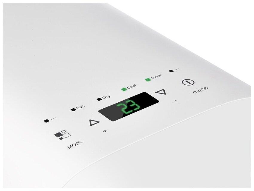 Ballu BPAC-09 CD - особенности: пульт ДУ, регулировка направления воздушного потока, дисплей, таймер включения/выключения