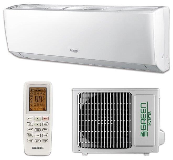 GREEN GRI/GRO-07IG2 - мощность охлаждения: 2200Вт / обогрева: 2300Вт
