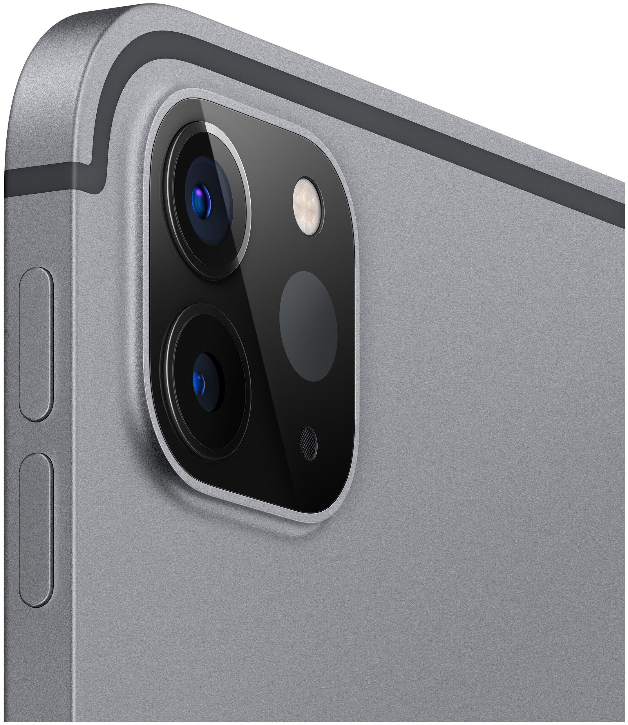 Apple iPad Pro 11 (2020) 128Gb Wi-Fi - беспроводные интерфейсы: WiFi 802.11ax, Bluetooth 5.0
