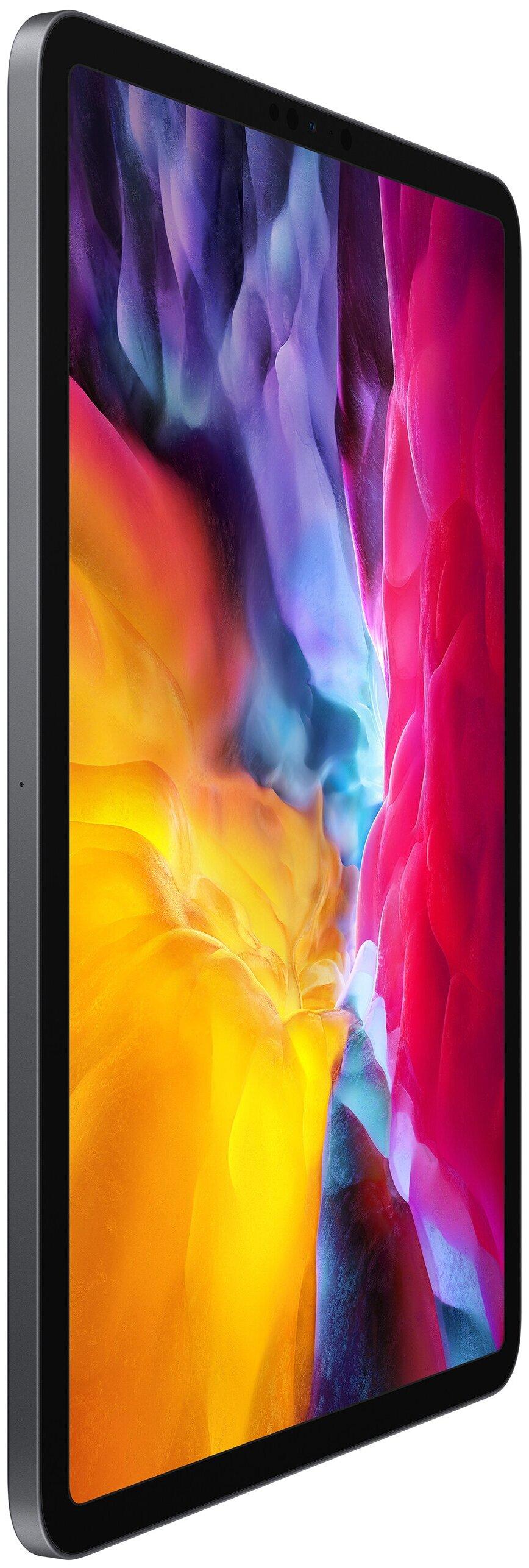 Apple iPad Pro 11 (2020) 256Gb Wi-Fi - камеры: основная 12МП, 10МП, фронтальная 7МП