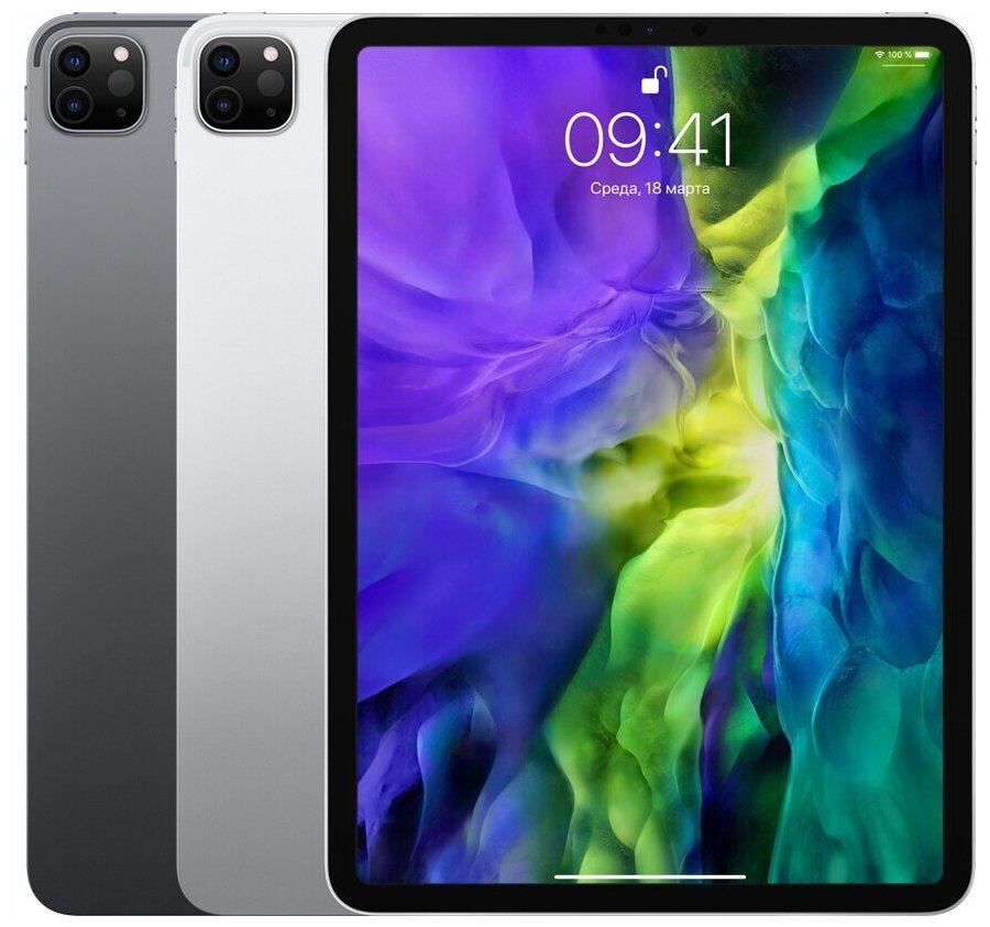 Apple iPad Pro 11 (2020) 256Gb Wi-Fi + Cellular - беспроводные интерфейсы: 4G LTE, WiFi 802.11ax, Bluetooth 5.0