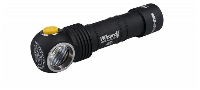 ArmyTek Wizard Pro v3 XHP50 Magnet USB + 18650 Li-Ion (белый свет) - световой поток: 2300лм
