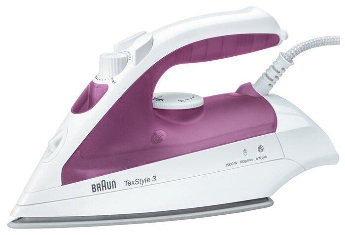 Braun TexStyle 3 TS320C - мощность: 2000Вт