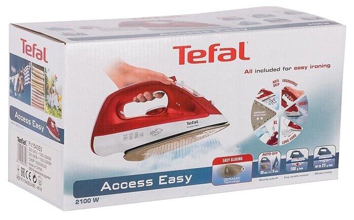 Tefal FV1543 - паровой удар: 100г/мин