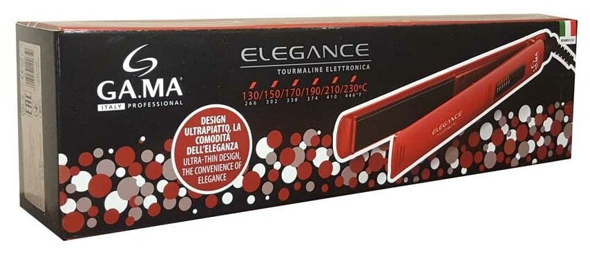 GA.MA Elegance Electronic (P21.ELEGANCE LED) - покрытие: турмалиновое