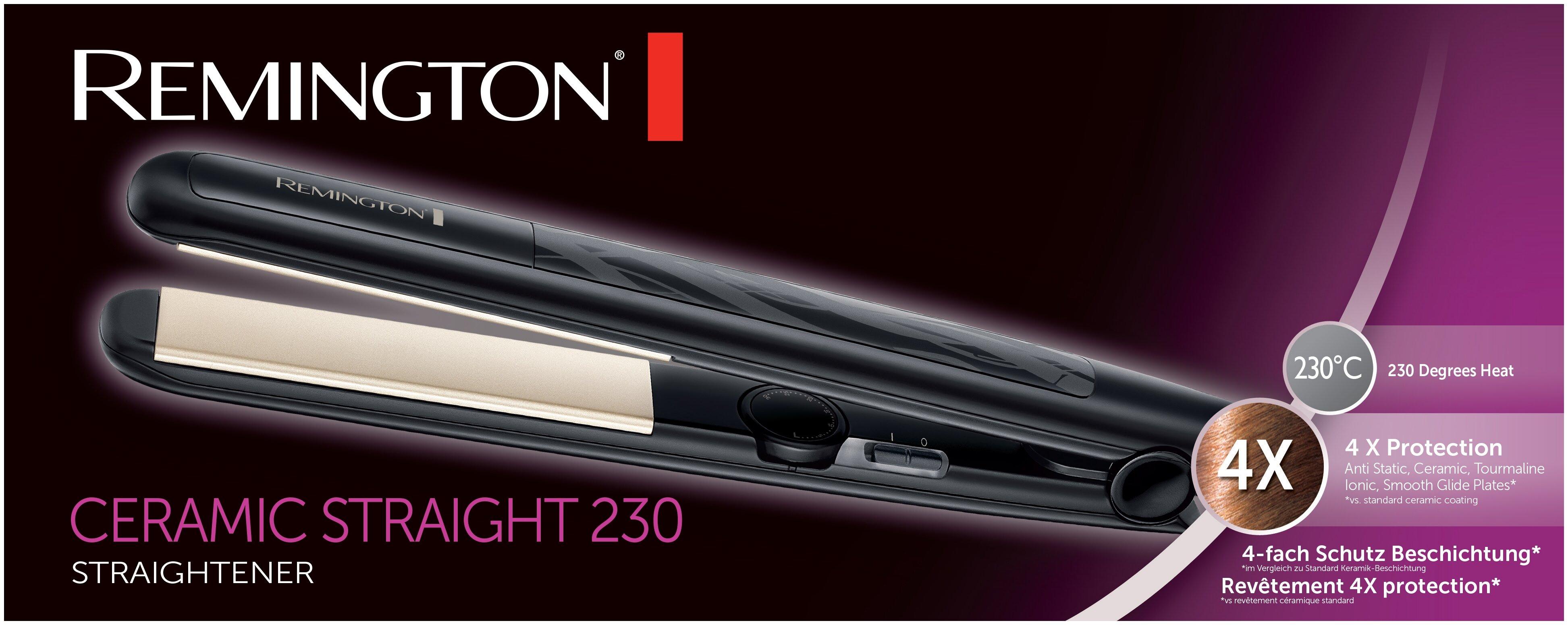 Remington S3500 - максимальная температура нагрева 230 °C