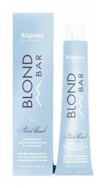 Kapous Professional Blond Bar с экстрактом жемчуга, 100 мл - вид окрашивания: стойкое, тонирование