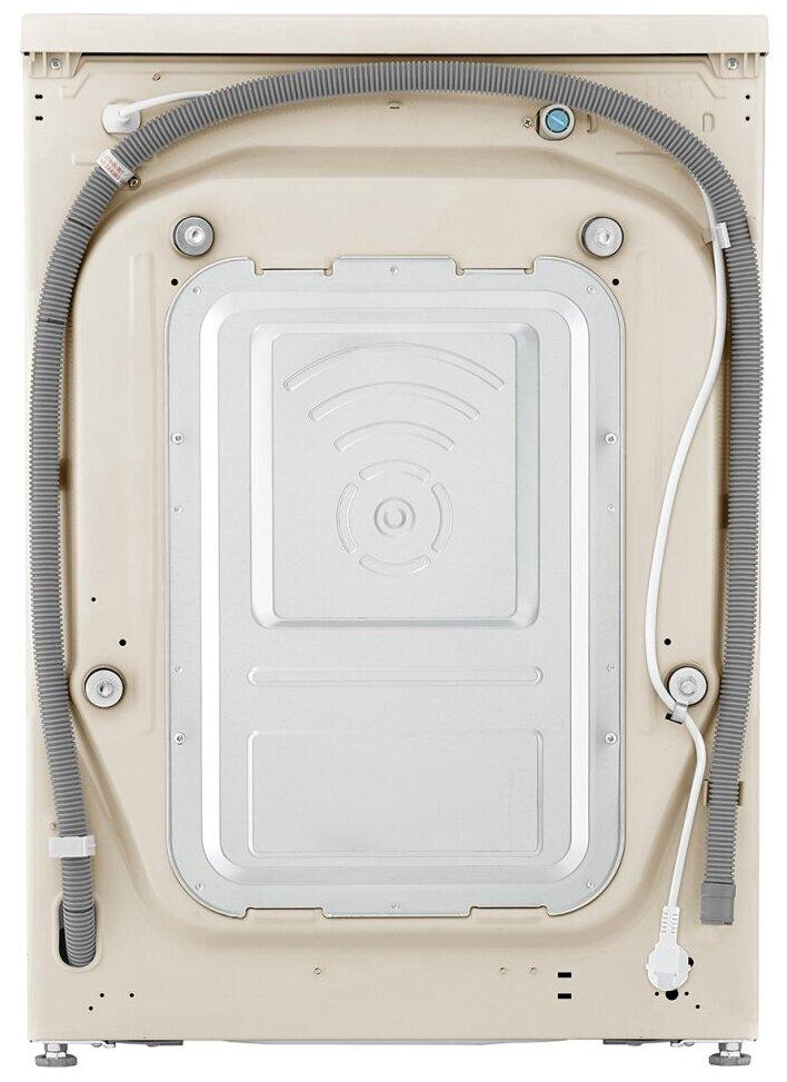 LG AI DD F4V5VS9B - дозагрузка белья: через основной люк