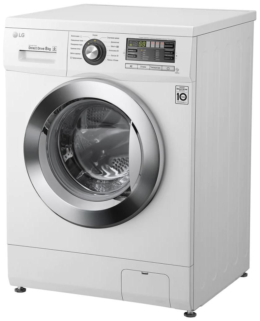 LG F-1096TD3 - скорость отжима: 1000об/мин